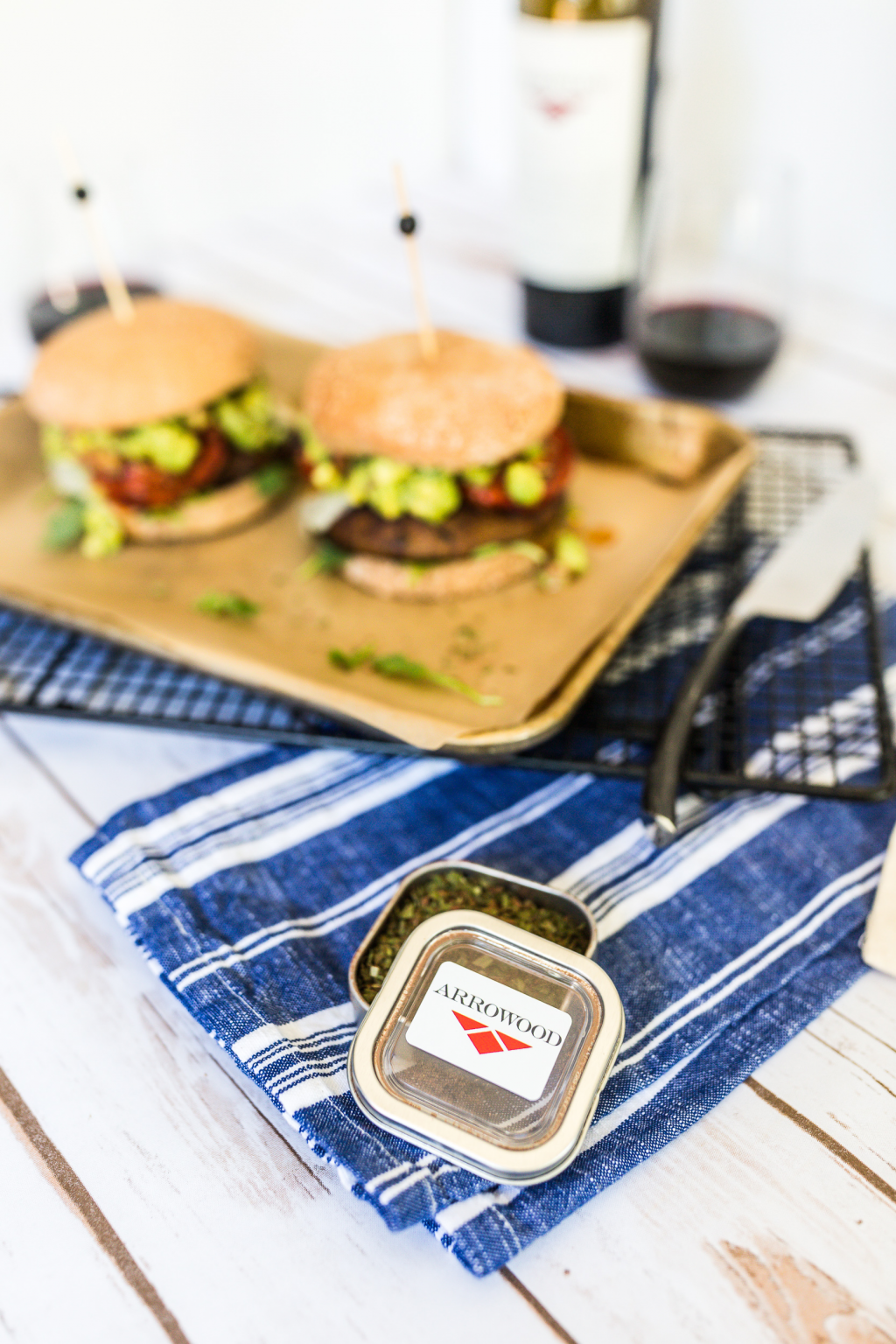 Arrowood Vineyards California Portobello Burger Recipe
