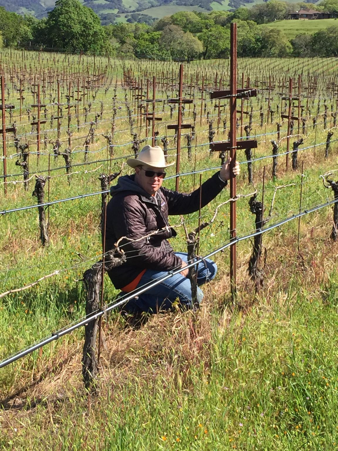 Arrowood's Danny Smith, Vineyard Manager